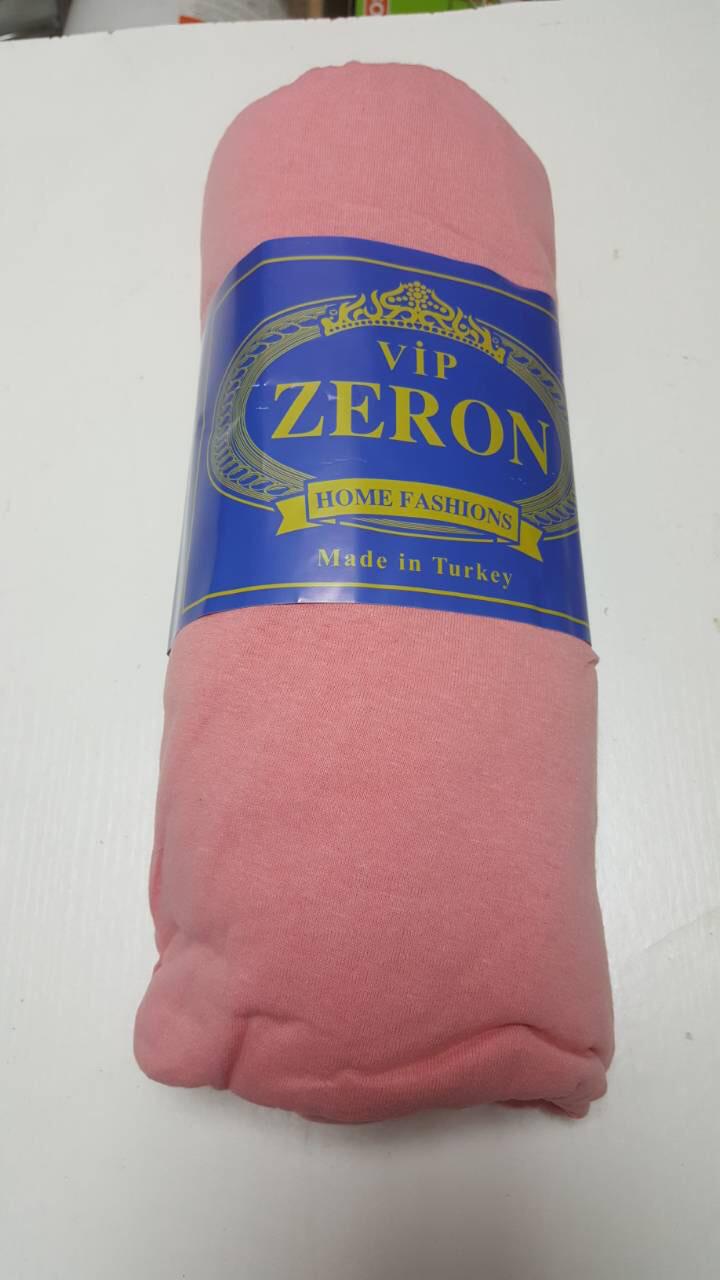 4605f0808cec Купить Простынь на резинке ZERON хлопковая трикотажная коралловая по ...