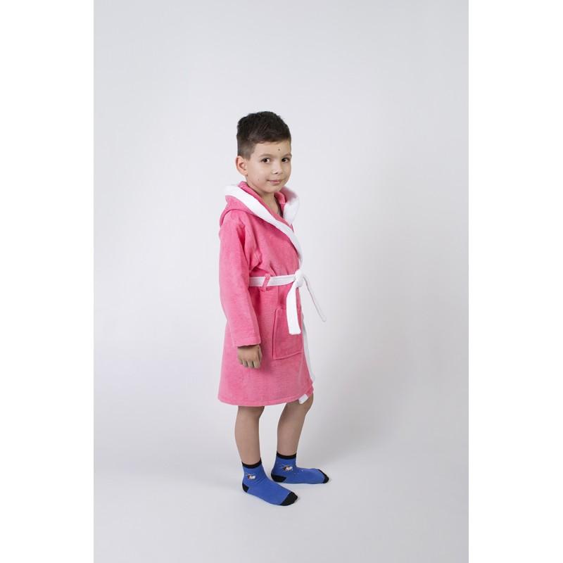 264b083a1f10 Купить Халат махровый детский Lotus - Зайка новый коралловый по цене ...