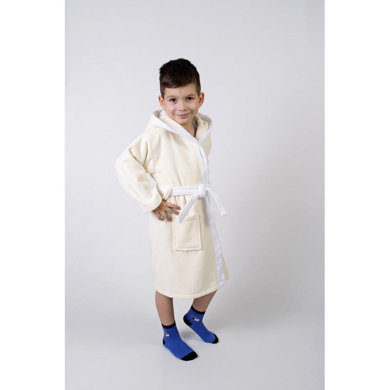 fbf7dc4dac57 Купить Халат махровый детский Lotus - Зайка новый крем по цене: 481 ...