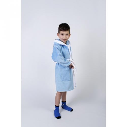1de43fb94de9 Купить Халат махровый детский Lotus - Зайка новый голубой по цене ...